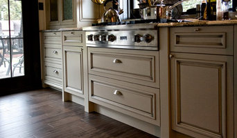 Maple Faux Finish Kitchen