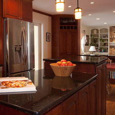 Traditional Kitchen by Castle Building & Remodeling