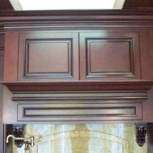 Dark Mahogany Cabinets Houzz