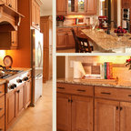 Kraftmaid Jamestown Maple - Deaton - Traditional - Kitchen
