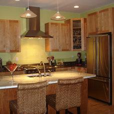 Contemporary Kitchen by Tucker Distinctive Kitchens