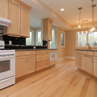 Maple Kitchen | Houzz on Light Maple Cabinets With White Countertops  id=77125