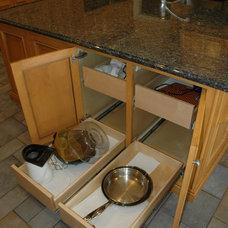 Traditional Kitchen by Custom Corners LLC