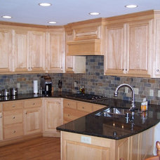 Traditional Kitchen by Wade Design & Construction Inc