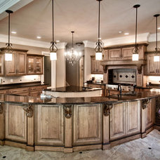 Contemporary Kitchen by Kirkland Custom Cabinets Inc