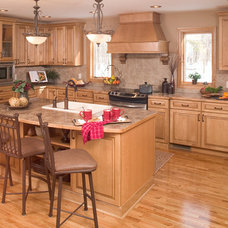 Traditional Kitchen by Crow Wing Cabinets
