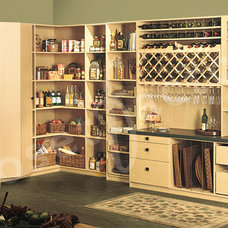 Contemporary Kitchen by Kay Wade, Closet Factory