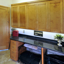 Traditional Laundry Room by Chip's Kitchens & Baths