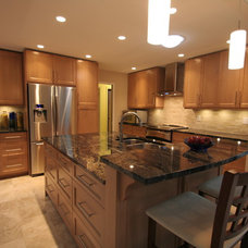 Contemporary Kitchen by Pacific Coast Kitchens