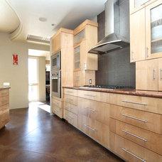 Contemporary Kitchen by Venuti Woodworking