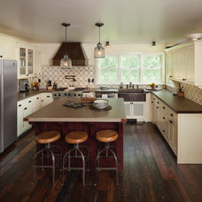 Farmhouse Kitchen by Lendrum Photography LLC