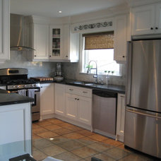 Traditional Kitchen by Rose Arangio