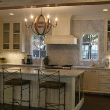 mediterranean kitchen by ESD Homes