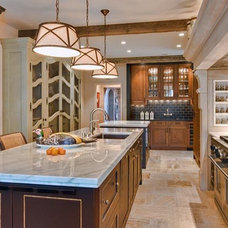 traditional kitchen by Mark Henninger