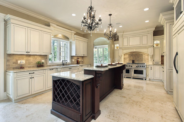 Traditional Kitchen by Halo Stone Designs