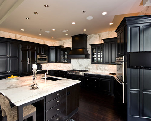 black cabinets ideas, pictures, remodel and decor,Black Cabinets Kitchen,Kitchen ideas