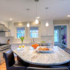 Transitional Kitchen by CW Design, LLC