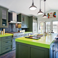 Contemporary Kitchen by American Coastal Properties
