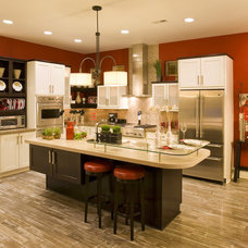 Contemporary Kitchen by Margie Wright