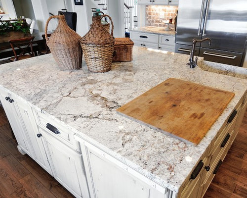kitchens with islands white granite countertop houzz 13906