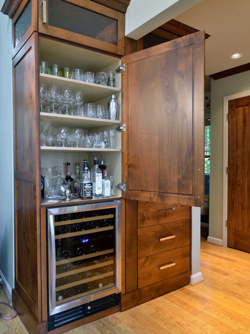 Hidden Liquor Cabinet Home Design Ideas, Pictures, Remodel and Decor