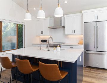 Marigold Transitional Kitchen and Main Floor