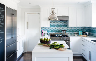 Designers Share Their Hottest Picks for Kitchen Backsplashes