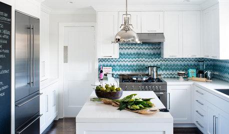 Designers Share Their Hottest Picks for Kitchen Backsplashes