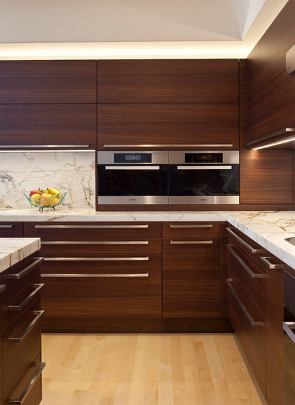 Contemporary Kitchen by Haefele Design