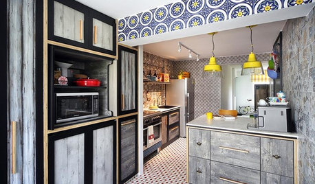 Kitchen Tour: This HDB Cookspace is Colourful, Cosy and Quirky