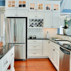 Beach Style Kitchen by Schell Brothers