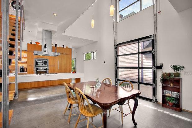 Industrial Kitchen by Chris Pardo Design - Elemental Architecture