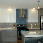 Open-plan galley kitchen - Traditional - Kitchen - San Francisco - by The Wood Connection