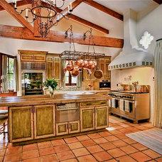 Mediterranean Kitchen by Platner & Co.