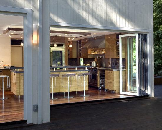 accordion doors home design photos