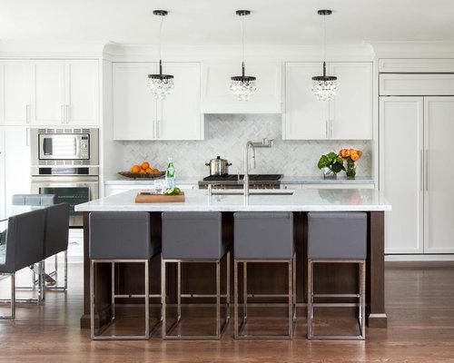 white kitchen pendants houzz