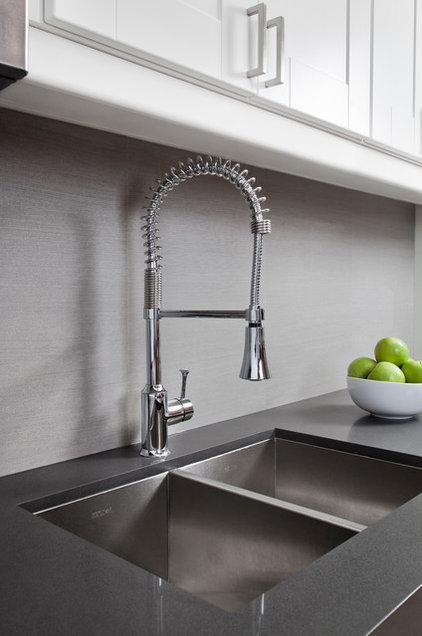 Industrial Kitchen by Rad Design Inc