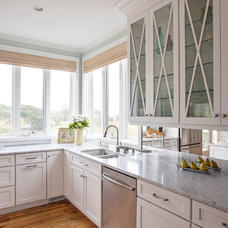 Beach Style Kitchen by Amy Trowman Design