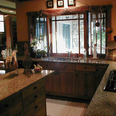 Traditional Kitchen by Mark Hutchins