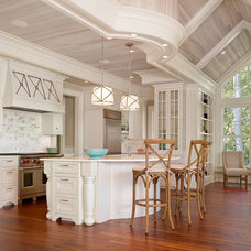 Beach Style Kitchen by R.M. Buck Builders