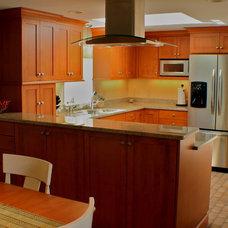 Modern Kitchen by Artisan Kitchens LLC