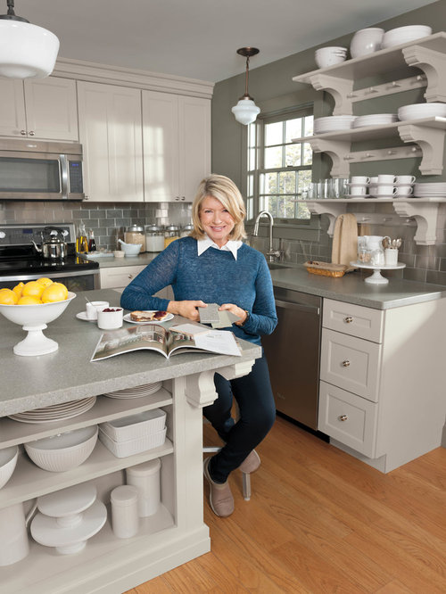 Martha Stewart Kitchen | Houzz