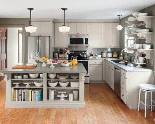 kitchen cabinets ideas » martha stewart decorating above kitchen
