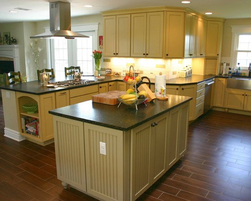 Denver kitchen design ideas renovations photos with for Buttercream kitchen cabinets