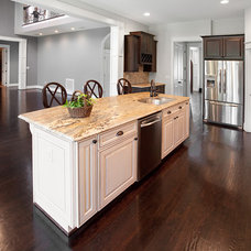 Traditional Kitchen by Amy Gallo, NCIDQ, ASID