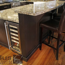 Contemporary Kitchen by APlus Interior Design & Remodeling