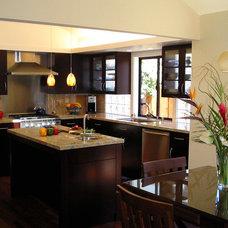 Contemporary Kitchen by Hopkins Studio, architecture + design