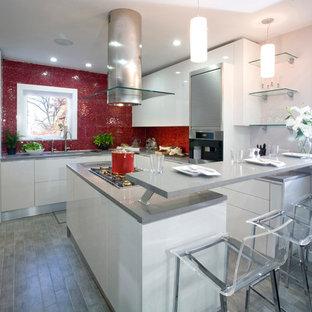 Contemporary kitchen ideas - Kitchen - contemporary kitchen idea in New York