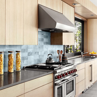 Contemporary kitchen pictures - Inspiration for a contemporary kitchen remodel in San Francisco