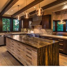 Rustic Kitchen by Sarah Jones Design